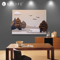 New Arrival Horse in the Forest Wall Paintings for Living Room Artwork Pictures