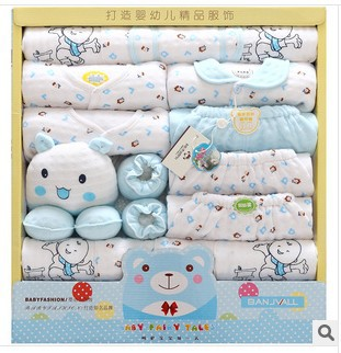 High Quality Thicken Warm Newborn Underwear Clothing 100 % Cotton Baby Gift Set Infant 19 Pieces Clothing Gift Set For 0-1 Year new 100% cotton 18pcs set new born underwear clothes sets high quality newborn baby clothing gift set