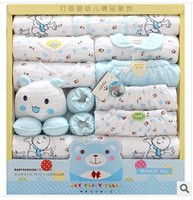 High Quality Thicken Warm Newborn Underwear Clothing 100 % Cotton Baby Gift Set Infant 19 Pieces Clothing Gift Set For 0 1 Year