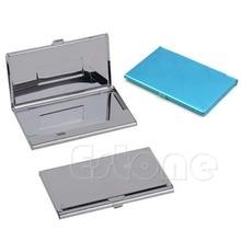 Box Id-Card-Holder Business-Name Metal Credit Pocket-Box-Case THINKTHENDO 1x