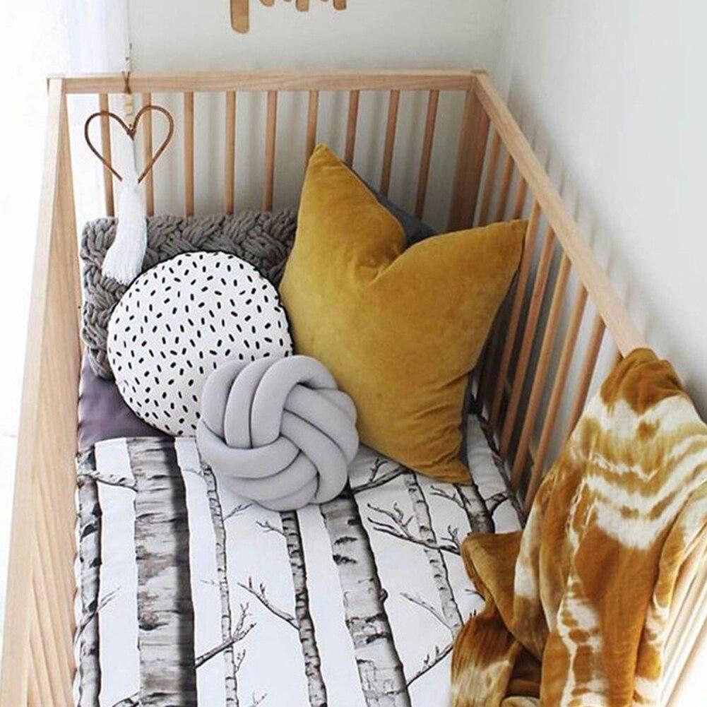HOT SALE Creative 18cm Knotted Ball Cushion Throw Pillow Waist Back Cushion Home Sofa Bed Decor HOT SALE! Creative 18cm Knotted Ball Cushion Throw Pillow Waist Back Cushion Home Sofa Bed Decor Dolls Toys For Kids