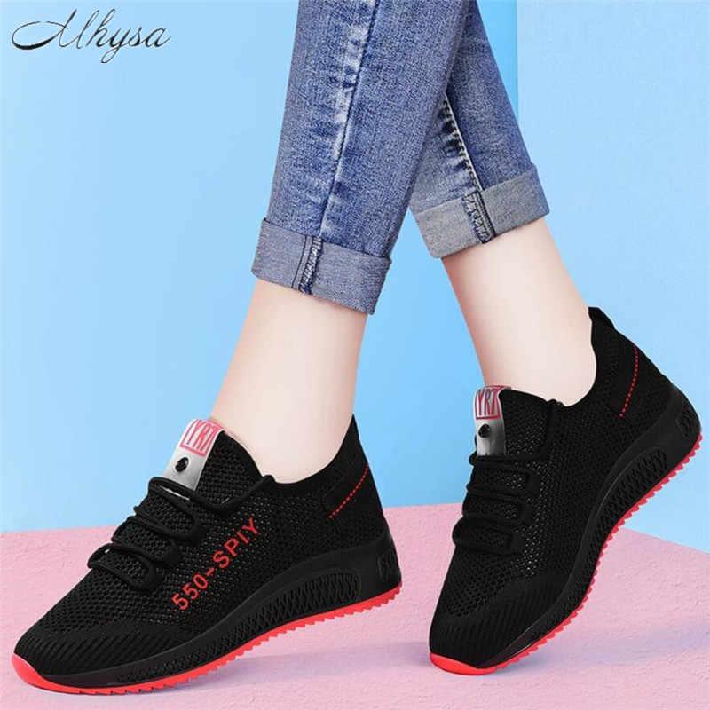 Mhysa 2019 scarpe da Donna di Nuovo modo tenis feminino luce mesh traspirante donna scarpe casual delle Donne di scarpe vulcanizzate T1049