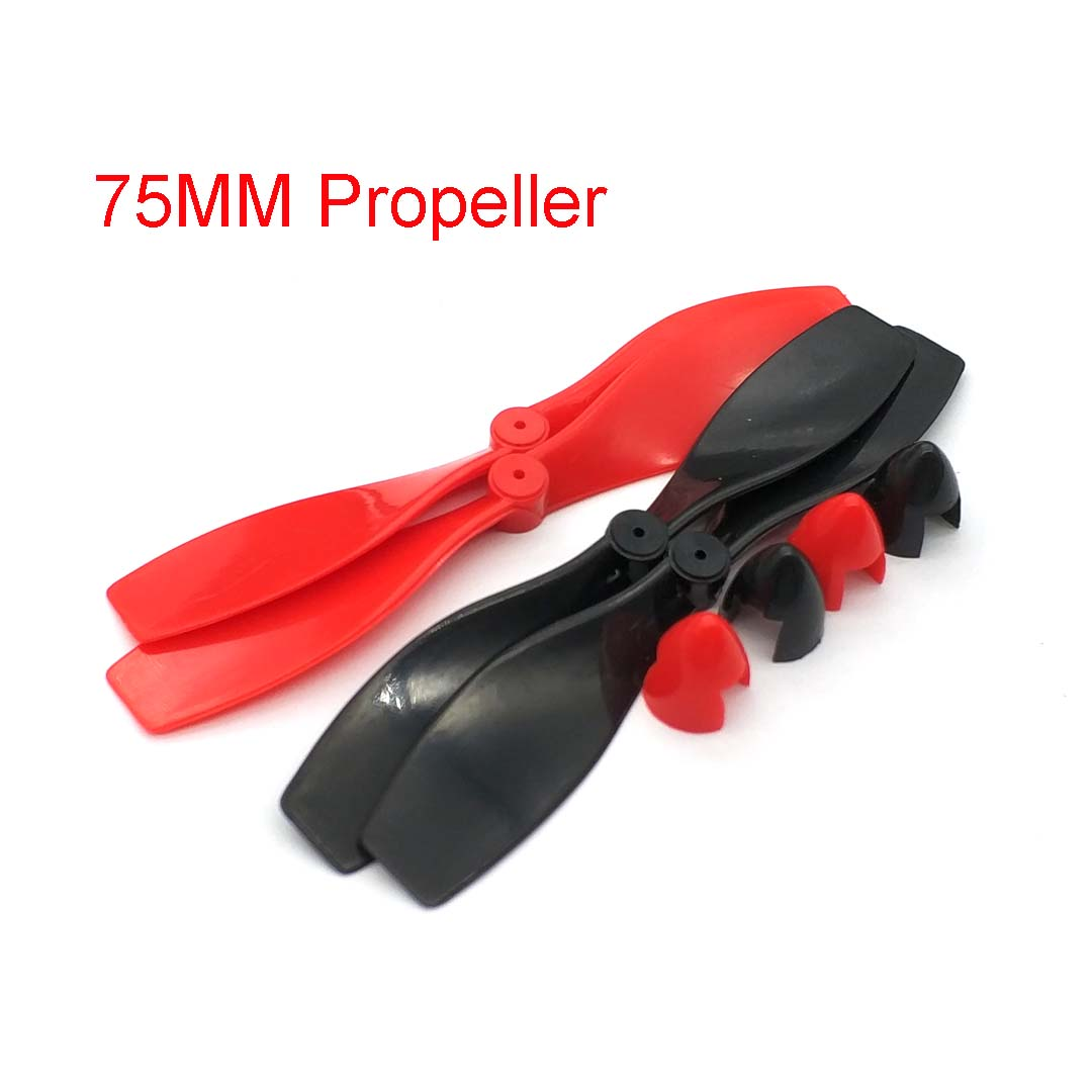 4 Pcs/lot K155Y 5mm Helicopter DIY Plastic Propeller Screw For Model Motor Aircraft Helicopter DC Motor High Quality On Sale
