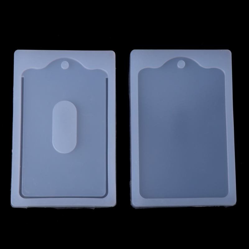 New Card Set Pendant Silicone Mold Resin Craft Handmade DIY Jewelry Making Tool
