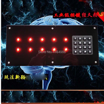 memory teamwork game props intelligence machine Time memory shorthand panel organ Takagism game real life room escape game