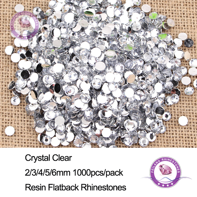 Resin Flat Back Non Hotfix White Rhinestone For Clothes Decoration Stones  And Crystals Strass Applique Glue On Nails Art b80a0c3049e4
