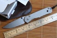 Fule Standard Large Sebenza 24 folding knife s35vn blade Titanium handle camp hunt kitchen fruit outdoor survive knife EDC tools