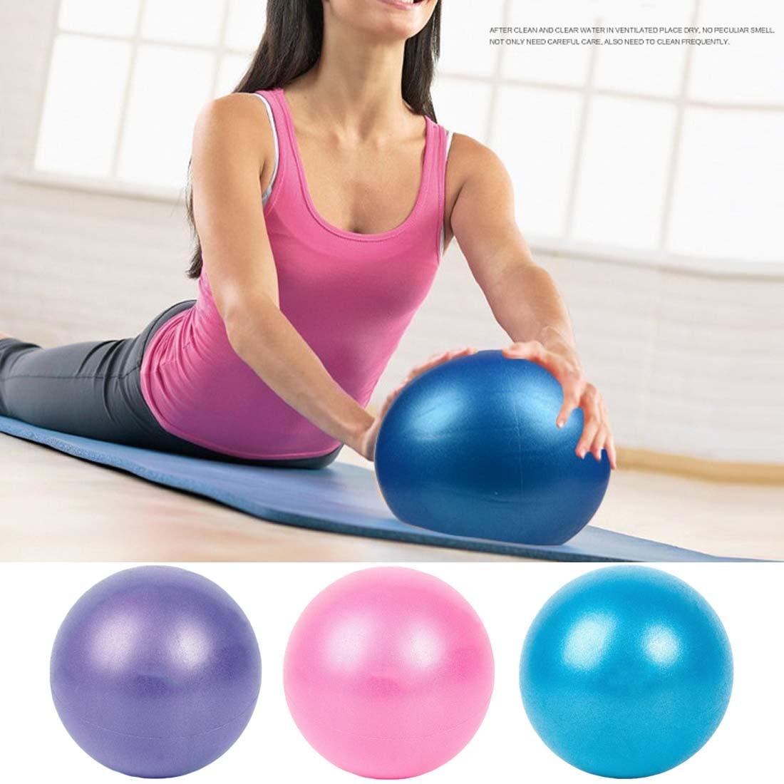New 25cm Pelota Yoga Exercise Gymnastic Fitness Pilates Ball Balance Exercise Gym Fitness Yoga Core Ball Indoor Gym Yoga Ball