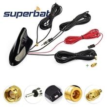 Superbat sistema de navegación GPS para vehículo, sintonizador de Radio Digital DAB + receptor, Radio FM/AM estéreo, Ampli