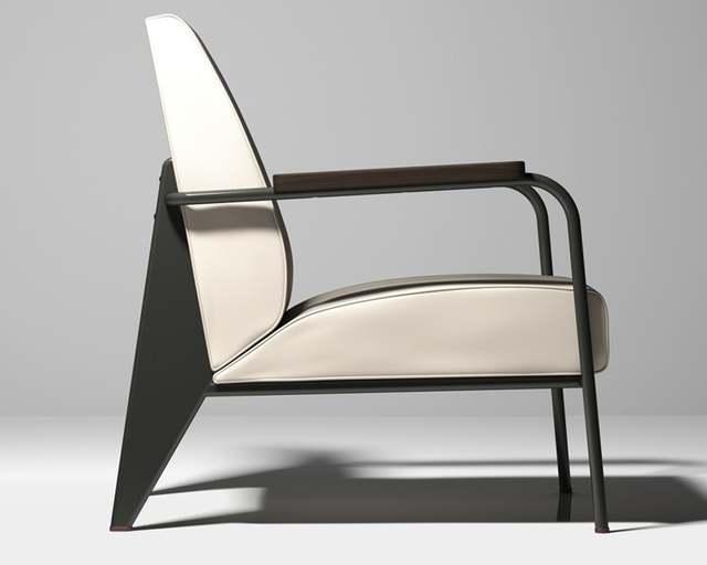 Modern Design Fauteuil.Online Shop Free Shipping Jean Prouve Fauteuil De Salon Sofa