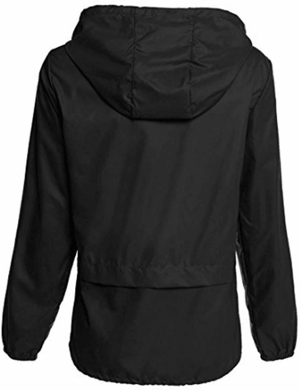 Chamsgend 付きスポーツジャケット女性コートランニングトレーニングプラスサイズジャケットファッションポケット長袖女性トップス