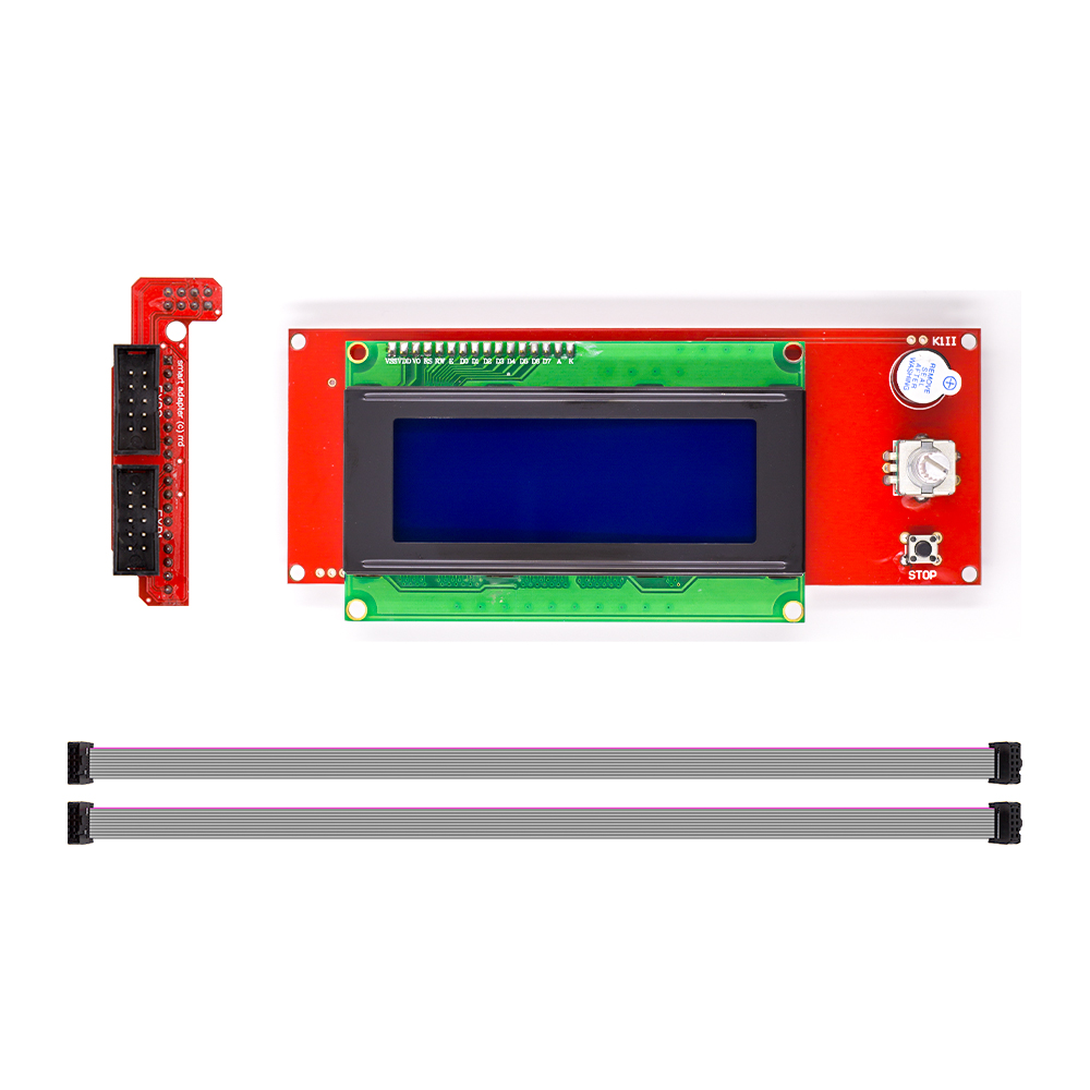 1 Pcs LCD Display 3D Printer Reprap Smart Controller Reprap Ramps 1.4 2004 LCD Control