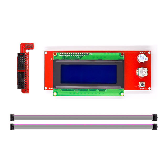 1 Pcs LCD Display 3D Printer Reprap Smart Controller Reprap Ramps 1.4 2004 LCD Control