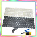 "Brand new UK Keyboard without Backlight & keyboard screws & screwdriver tools for Macbook Retina 13.3"" A1425 2012 Year"