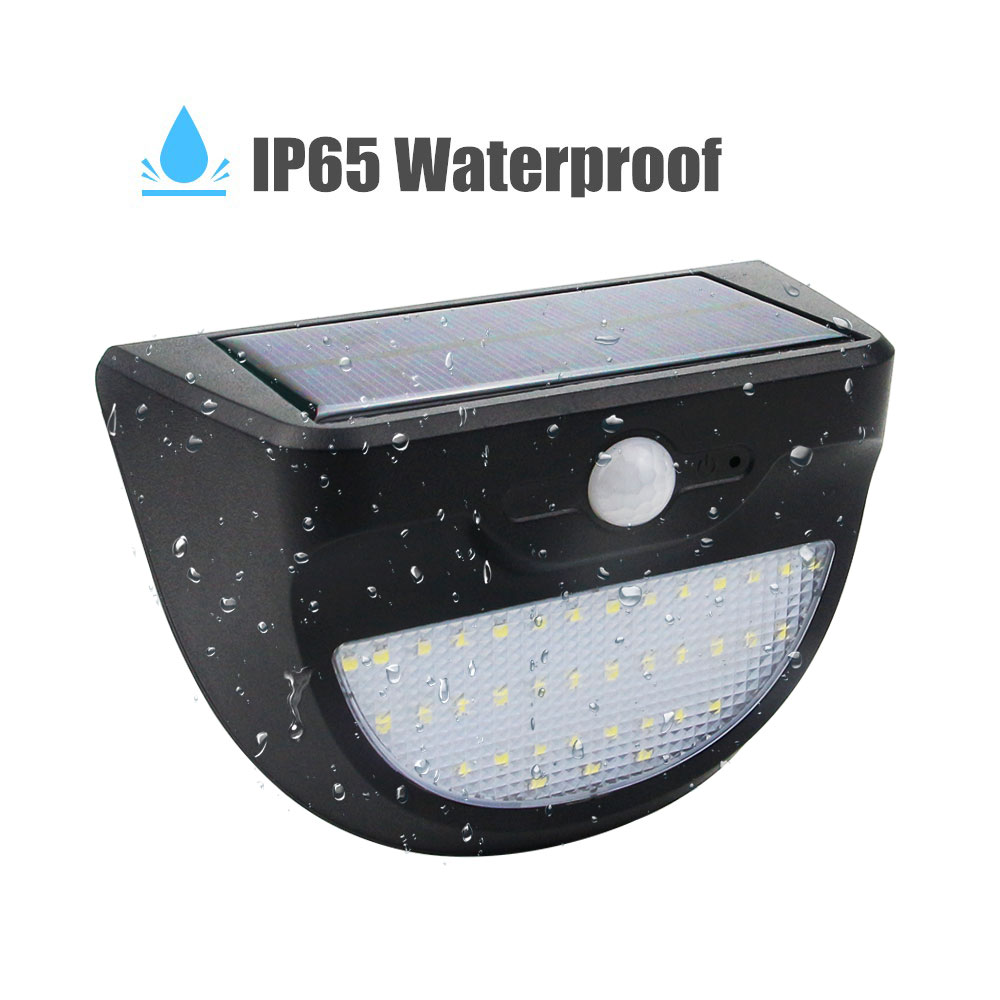 Waterproof 37 LED Solar Light Solar Panels Power PIR Motion Sensor LED Garden Light Outdoor Pathway Sense Solar Lamp Wall Light