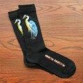 Новый прилив бренд скейтборд в стиле хип-хоп мертвая муха из конопляной ткани листьев кран двойной рта носка коттоновые носки
