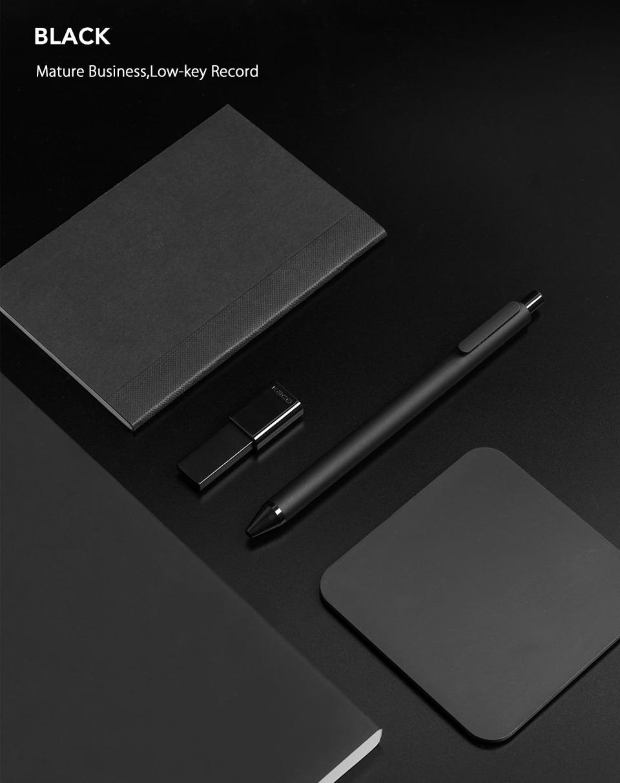 10PcsLot Xiaomi KACO 0.5mm Xiomi Mi Signing P E N Gal Ink Smooth Writing Durable Signing Black Refill (8)