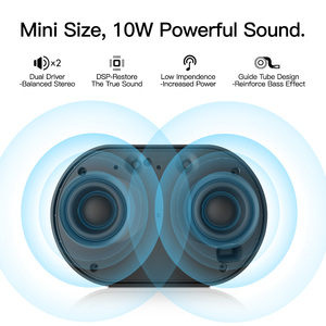 Image 3 - GGMM נייד Bluetooth רמקול חיצוני אלחוטי חכם רמקול 10W סטריאו מוסיקה רמקול תמיכת קול Alexa 2200mAh 14H מיני