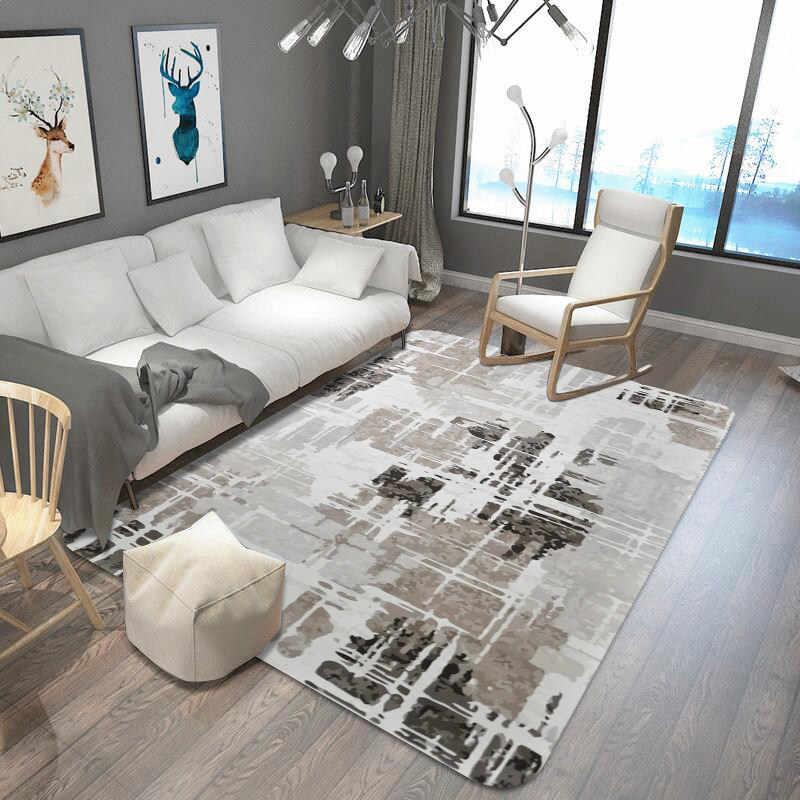 Европа текстура ковер мягкие бархатные ковры для спальни домашний декор пол коврики для гостиной Диванный кофейный столик коврик ковер