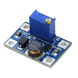Intelligent Electronic DC-DC SX1308 Stepping Adjustable Power Supply Module Boost Boost Converter 2-24V 2-28V 2A