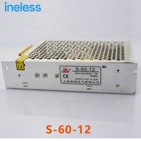 S 60 12 Switching Power Supply LED Monitoring Power Supply 12V 5A 220V To DC DC12V