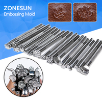 High Quality Hot Leather Tool Printing Sets 20pcs Lot DIY Leathercraft Printing Punches