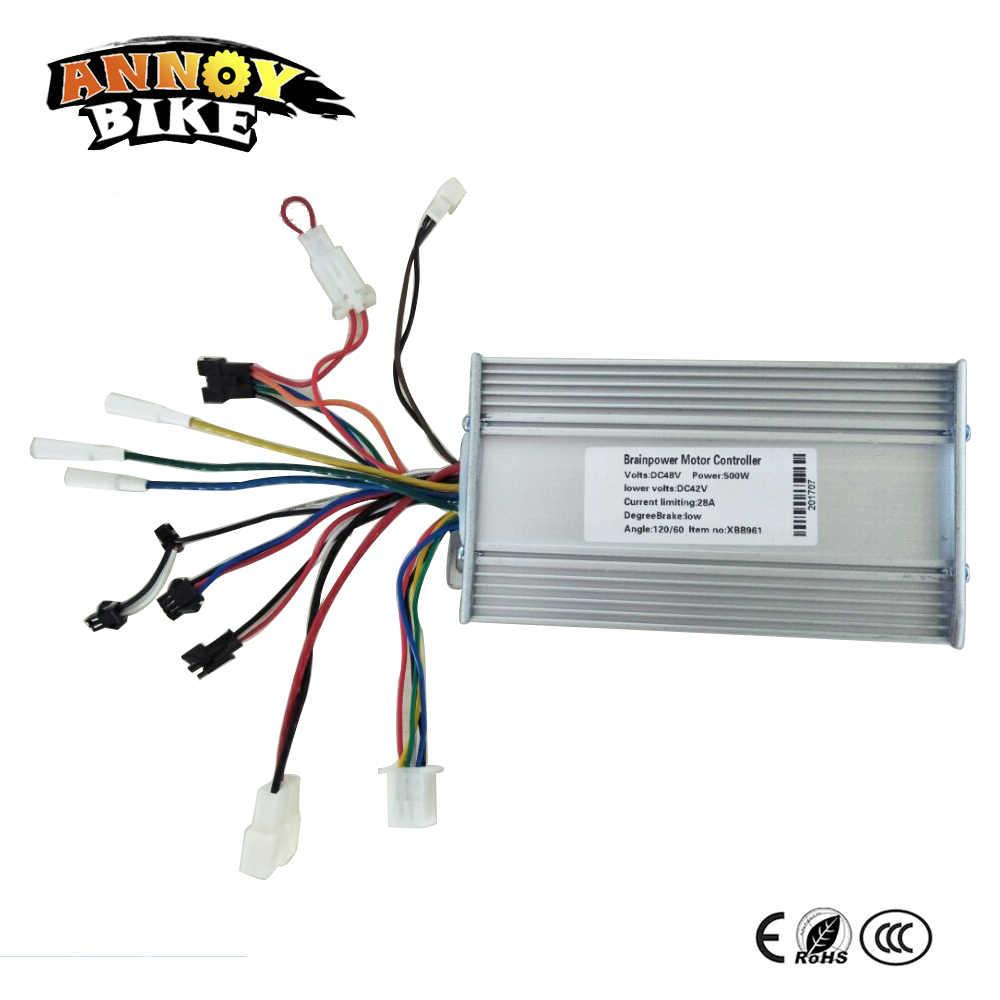 800W/500W 24V/ 36V/ 48V MOFSET Brushless Motor Controller E
