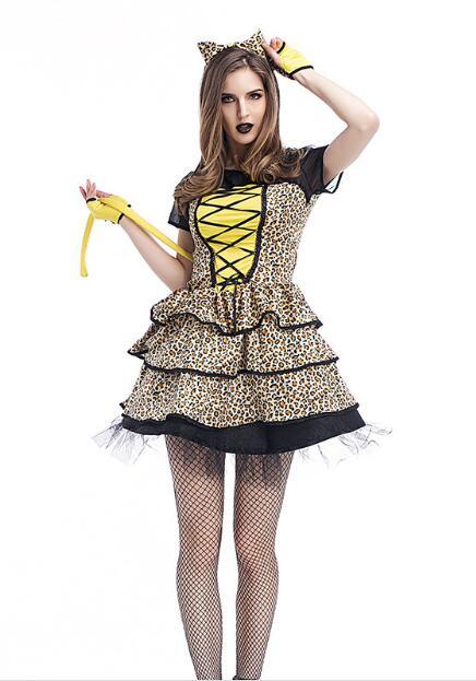 Online Get Cheap Leopard Print Halloween Costume -Aliexpress.com ...