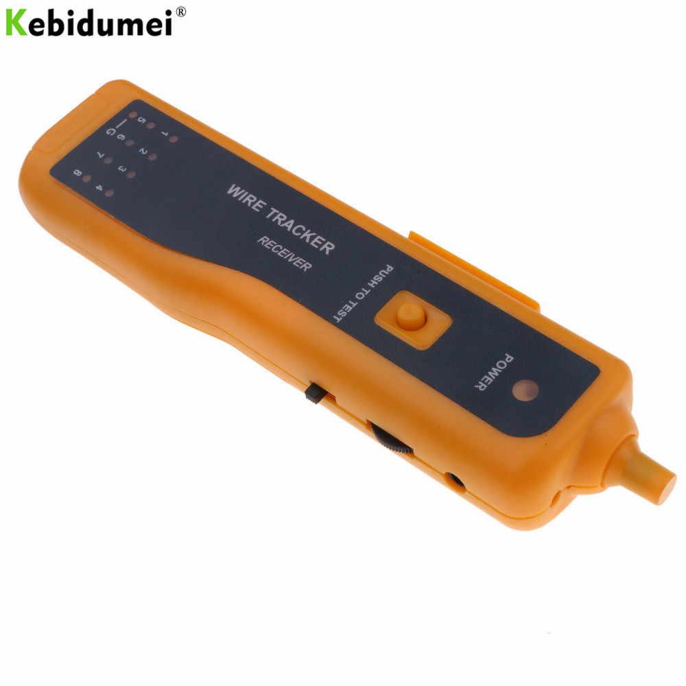 kebidumei ethernet lan network cable tester utp stp rj11 rj45 cat5 cat6 telephone wire tracker tracer  [ 1000 x 1000 Pixel ]