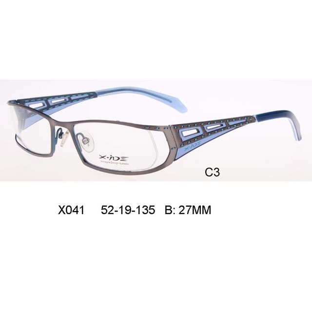 Laura Taxa De Haute Qualite Elegante mulher Sculpte Cadre Femmes Lunettes oculos sem grau Optique En Acier Patchwork Bras Flexível