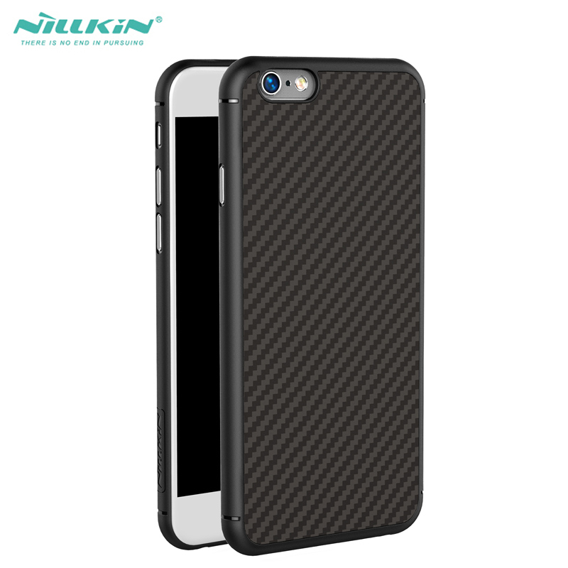 imágenes para Para el iphone 6 6 s 7 Caso de NILLKIN Fibra Sintética + PP de Lujo de Espalda Caso de la cubierta para el iphone 6 Plus 6 s Más 7 Plus teléfono caso