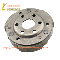 GY6 50 80cc Clutch Carrier Assy Driven Wheel Pulley Centrifugal Block Scooter Engine Spare Parts 139QMB Moped LXK GY650