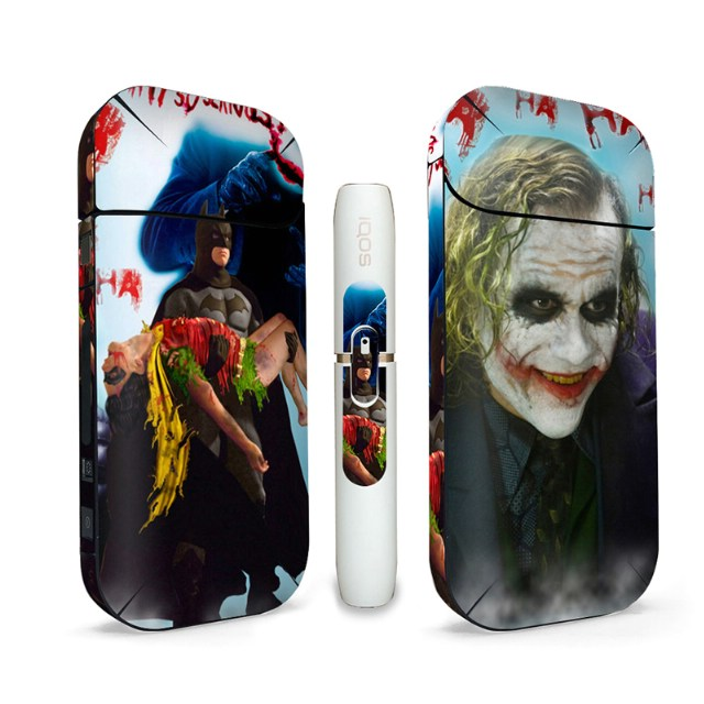 Us 2 68 Joker Design Electronic Cigarette Protective Full Body For Iqos 2 4 Plus Skin Sticker Cover Decals In Stickers From Consumer Electronics On