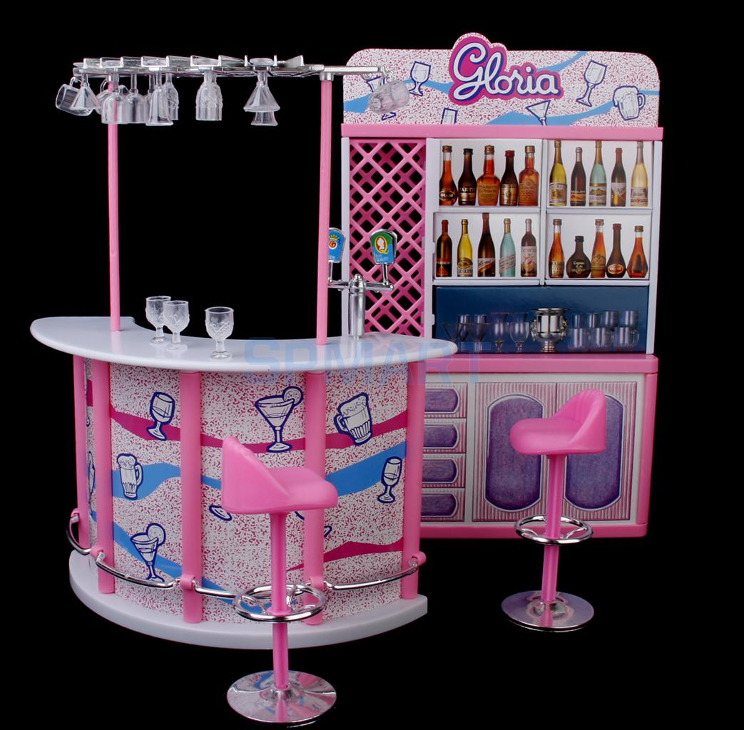 Beau New Arrivals 2015 Plastic Gloria Dollhouse Furniture Bar Play Set For Dolls  HOT SALE In Furniture Toys From Toys U0026 Hobbies On Aliexpress.com | Alibaba  Group