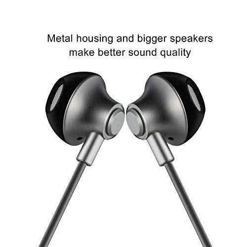 في الأذن ستيريو سماعات أذن باص الرياضة تشغيل ايفي سماعات الأذن عزل الضوضاء مع Mic 3.5 مللي متر و التحكم بحجم الصوت سماعة سماعة