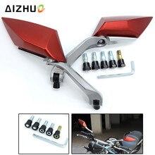 Motorcycle Accessories Rear View Side Mirrors for honda CB 599 919 400 CB600 HORNET CBR 600 F2 F3 F4 F4i yamaha YZF R125 YZF R15