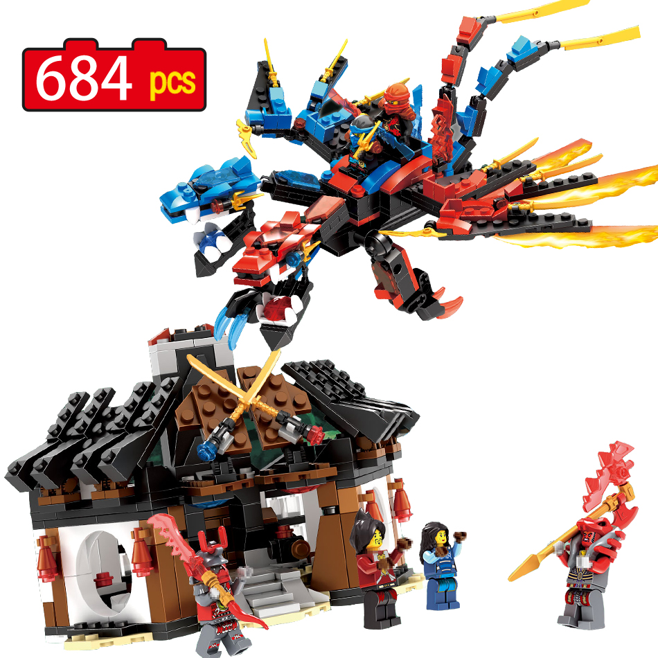 Ninjago Set Green Mech Dragon building blocks kids hot toys ninja bricks mini action figures enlighten toy LegoINGlys Figure ninjago set green mech dragon building blocks kids hot toys ninja bricks mini action figures enlighten toy legoinglys figure