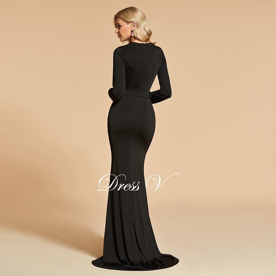 b2dc022403b330 Dressv elegante lange mouwen avondjurk geschulpte rand hals trompet kant wedding  party formele jurk avondjurken aanpassenUSD 126.49 piece