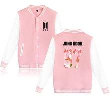 BTS Kpop Baseball Sweaters