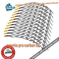 2017 Two Wheels Rim Set Stickers For Road Bike Bicycle Mavic Cosmic Pro Carbon SL 40C