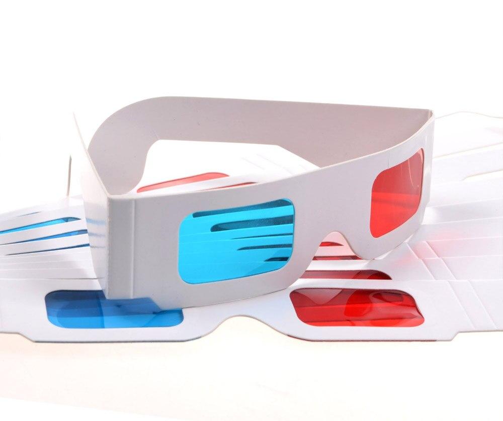 a54ac619117bf0 Hot selling Papier 3d bril rood blauw 100 paar Rood Cyaan Kartonnen  kinderen Gevouwen in Beschermhoes in Hot selling Papier 3d bril rood blauw  100 paar ...