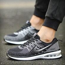 Kezrea легкие кроссовки для Для мужчин из дышащего сетчатого материала подушке спортивная обувь Для мужчин бег ходьба спортивные кроссовки обувь