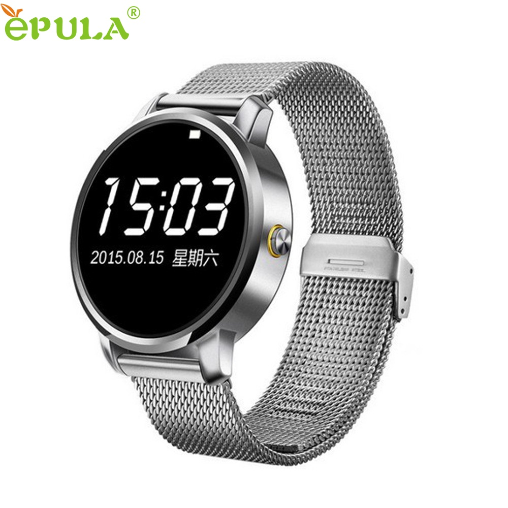 ФОТО Beautiful Gift New V360 Waterproof Sport Bluetooth Smart Watch for iOS Android Phone with Pedometer Wholesale price May19