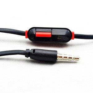 Image 5 - Kinderen Opvouwbare Wired Hoofdtelefoon Lichter Headset Portable 3.5mm Koptelefoon Met Draad Controle Microfoon Voor MP3 MP4 Computer