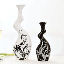 par de muebles para el hogar moderno decoracinde color blanco y negro decoracin de cermica