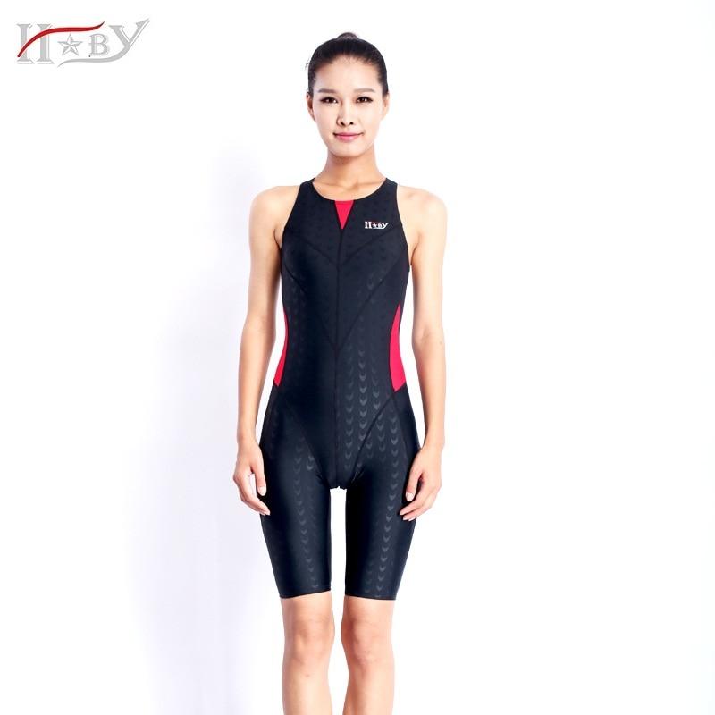 HXBY Márka női fürdőruhák verseny versenyzéshez fürdőruha egy - Sportruházat és sportolási kiegészítők