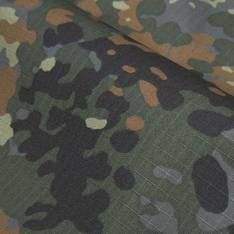 1,5 M Breite Flecktarn Camo Stoff Deutsch Armee Camouflage Tuch Baumwolle DIY Military Taschentuch Tischdecke Sofa Abdeckung Material