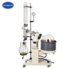 New 20L Lab Rotary Evaporator Glass Motor Lift Rotary Evaporation Apparatus With Digital Water & Oil Heat Bath
