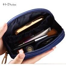 HDWISS Nylon Fan-shaped Cosmetic Bag Women Travel Make up Toiletry Bag Fashion Necessaries Makeup Organizer Case CB029