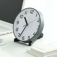 Table Clock Desktop Vintage Pendulum Clock Electronic Desk Clock Peque Digital Desk Clocks Office Decoration Desk 50Y006